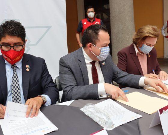 Club Rotario se une a la campaña Yo Soy Cruz Roja con el fin de extender la ayuda humanitaria